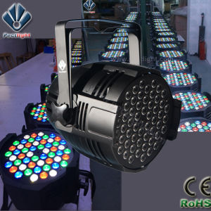Unbeatable Price 54X3w LED PAR Can Light with Lighter Housing pictures & photos