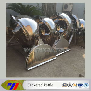 Tilting Steam Heating Jacketed Kettle Without Agitator pictures & photos