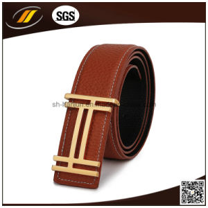 China Best Quality Custom Mens Casual Genuine Leather Belt For Jeans