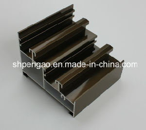 Multistep Waterproof Anodized Window Aluminum Profile