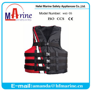 Hot Sale Ce Approved 50n Buoyancy Thin Life Jacket Foam pictures & photos