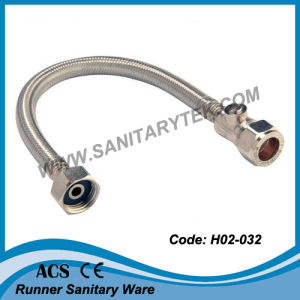 Flexible Tap Connector with Valve (H02-032) pictures & photos