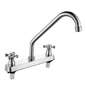 Hot and Cold Sink Mixer (JY-1052) pictures & photos