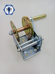 1500lbs Hand Winch Zinc Plated Hot Selling