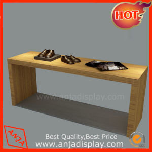 Wooden Display Table Display Desk for Shoes pictures & photos