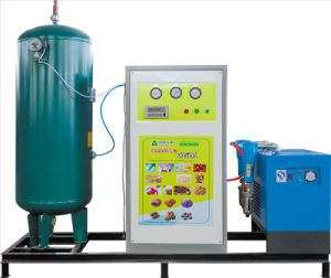 Mobile Skid-Mounted Psa Nitrogen Generator for Industry pictures & photos