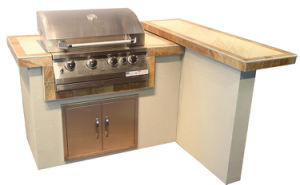 Outdoor Kitchen Gas Barbecue Island with CSA Certification pictures & photos