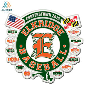 Customize Soft Enamel Die Cut Metal Sports Baseball Lapel Pins for Wholesale pictures & photos