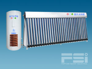 Medium-Pressurized Coiling Copper Finned Tube Solar Water Heater 804 pictures & photos