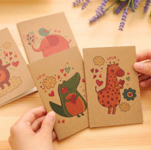 Cartoon Printing Kraft Paper Cover Exercise Books pictures & photos