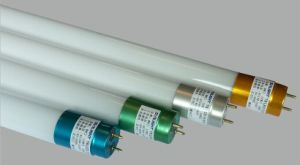 Colorful End Cap Glass T8 LED Tube (EGT8C18)