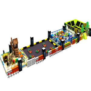 Happy Kids Entertainment Fibreglass Indoor Playground for Park