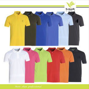 China Custom Promotional Polo Shirt Design For Women With Embroidery