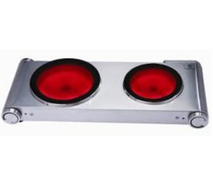 Double Burner Ceramic Stove Classical Model for Home Kitchen Use pictures & photos