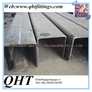 Double Seam Submerged Arc Steel Square Pipe with Thick Wall