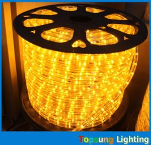 220V 2wire Round LED Rope Light Strip for Christmas