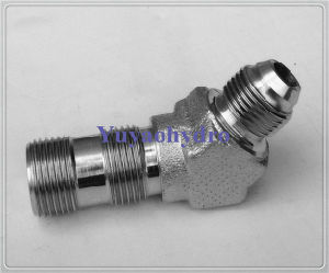 Stainless Steel Hydraulic Fitting Male 45 Deg Connector pictures & photos