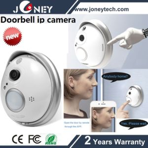 Remote Control Wireless WiFi Doorbell IP Camera (with battery) pictures & photos