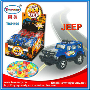 Super Friction Hammer Jeep 4X4 Candy Toy Car