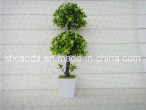 Artificial Plastic Potted Flower (XD14-246)
