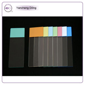 Colorized Single / Double Concave Ground Edges Microscope Slides (7105-S)