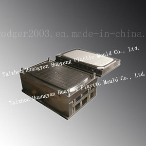 Plastic Rectangle Table with Foot Mould (HY021) pictures & photos