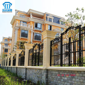 Rust-Proof/Antiseptic/High Quality Wrought Zinc Steel Fence