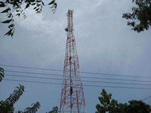 4 Legged Telecommunication Steel Tower to Sri Lanka for Dialog, Hutch, Suntel