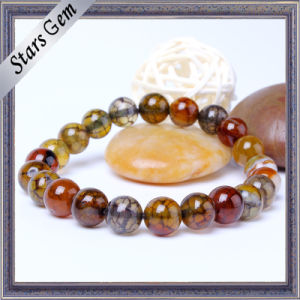 The Colorful Charming Natural Agate Stone Bracelet pictures & photos