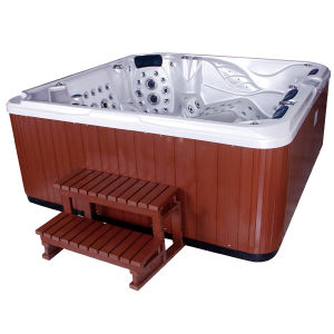 Acrylic Jacuzzi Surfing SPA Pool with PVC Skirt pictures & photos