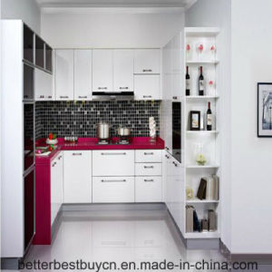 Most Popular in Africa Lacquer Kitchen Chinet for Sale pictures & photos