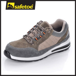 Grey Safety Shoes Type Sport Style Safety Shoes for Worker L-7271