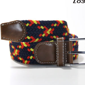 L03 Free Size Braided Elastic Retro and Classic Belts pictures & photos