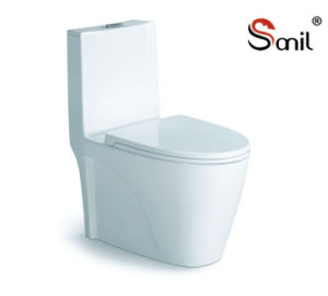 Wholesale Good Quality Hot Sale Ceramic Siphonic One-Piece Toilet (S7505)