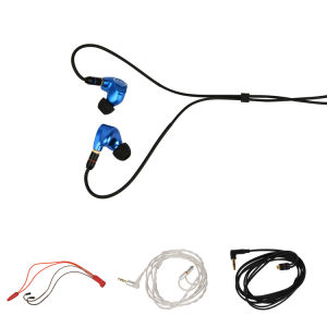 OEM Hi-Res Knowles 6 Balanced Armature +1 Dynamic Metal Cavity Bluetooth Earphone