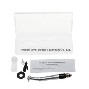 Dental Air Turbine Handpiece with Mini Small Quick Coupler pictures & photos