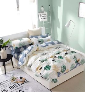 Modern Design Premium Cotton Printed Duvet Cover Bed Linen pictures & photos