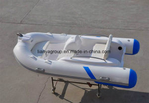Liya 3.3m Inflatable Pool Boats Rigid Inflatable Pontoon Boats pictures & photos