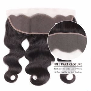 "Quality Brazilian Virgin Human Hair 4*4"" Lace Closure 12inches pictures & photos"