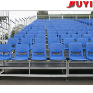 Steel Demountable Seating Solution with Plastic Seats for Outdoor Use Factory Price Outdoor Grandstand Aluminium Bleacher Sport Bench Seating Plastic Seat Gym pictures & photos