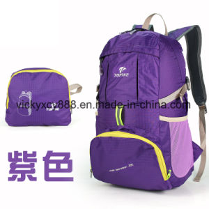 Foldable Leisure Breathable Fashion Outdoor Sports Travel Backpack Bag (CY3303) pictures & photos