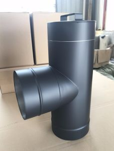 ... 6 Inch Singel Wall Black Chimney Flue Pipes ... & 6 Inch Singel Wall Black Chimney Flue Pipes - China Flue Pipes ...