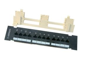25 Port Voice Telephone Cat3 Patch Panel pictures & photos
