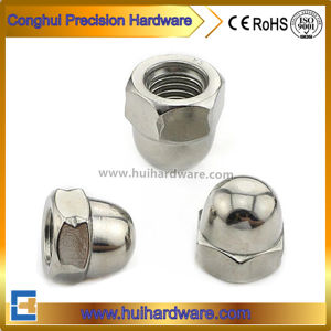 DIN1587 Hexagon Domed Cap Nut Stainless Steel Hex Cap Nut pictures & photos