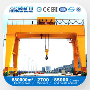 China Lifting Equipment Double Beam Gantry Crane pictures & photos