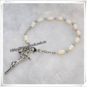 Religious Bracelet, Rosary Bangle, Catholic Rosary Bracelet (IO-CB131) pictures & photos