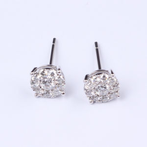 Nice Gold Diamond Earrings  (E7)