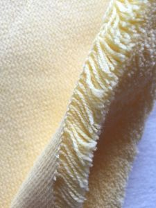 Yellow Polyester and Acrylic Paint Roller Fabric pictures & photos