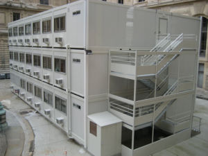 Multi-Floor Container House for Labor Camp pictures & photos