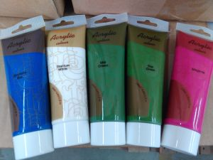 Artist Acrylic Color Paint Set pictures & photos
